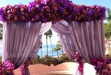 Radiant Orchid Weddings / 2014 Pantone Color of the Year!  / by Black Bride