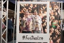 #Festival214 / Inspiration from our FREE festival in our Oxford Circus store.  Check out the line up http://tpmn.co/1oRdFYz #Festival214 / by Topman