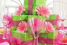 It's a Pink and Green World!! / All Things Pink & Green! / by Dr. Mia German