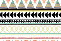 21) Aztec / Tribal Prints