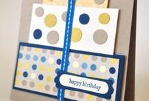 Handmade Birthday Cards Inspiration / by Audrey Neng