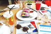 Eat it out / Cafes, restaurants, bars. The stuff that I eat out