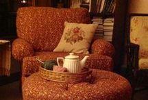 cozy craft room / by Tiffany Williams-Hart