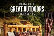 Cabela's Home Furnishings / Bring the outdoors inside with Cabela's Home Collections. We have outdoor-inspired furniture, home decor, bedding, and more!