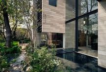 Architecture // Modern & Nature / Modern, contemporary and mid-century meets nature.