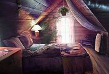 Bohemian Bedrooms / by Linda ( Bohemianpages) Page