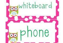 Owl Theme for Classroom / by Meredith Haithcock