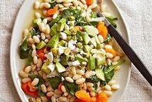 Beans & Lentils / Meat, Fish, Dairy and Egg Free. Try to avoid added oils by sauteing in a little water or vegetable broth.