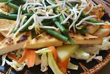 Asian / Meat, Fish, Dairy and Egg Free. Try to avoid added oils by sauteing in a little water or vegetable broth.