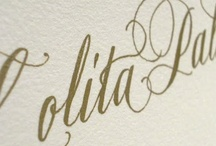 CALLIGRAPHY / Calligraphy by Monica Shirazy http://lacaligrafa.wix.com/home