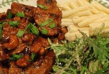 Seitan Recipes / Also called Wheat Meat, Mock Dock, Gluten Meat or Simply Gluten.  It is the food made from the protein of wheat. It is believed to have been discovered in China as a meat substitute for Buddhism.