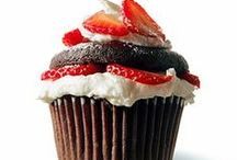 Cupcakes / Please take the time to make your own cakes and muffins. Store bought cake, cupcakes and cookies mixes such as Pillsbury and Betty Crocker contain hydrogenated oils and high fructose corn syrup, dairy, artificial flavors and GMO ingredients.