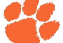 CLEMSON / Where the Blue Ridge yawns it's greatness.... Where the Tigers play / by Judy Evans