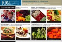 PCRM (Physicians Committee for Responsible Medicine) / Current up to date information on health and wellness