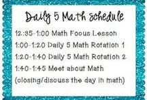 Daily 5 Math / by Judy Evans