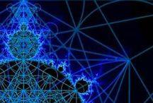 Fractals ∞ Sacred Geometry / Sacred geometry: Where Math meets Mysticism! Fractals, Fibonacci, Phi, Spirals, Platonic Solids, Mandalas, Sacred Geometry Art, etc.