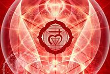 1. Red, Root Chakra