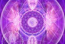 7. Violet, Crown Chakra