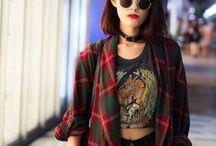 Black ★ Grunge ★ Rock / I like your style!