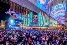 INSIDE DOWNTOWN VEGAS / There's more to Las Vegas than the strip... crazy, right? Here is our #VegasInsiders look at downtown #Vegas, Fremont Street, & Container Park!  http://www.vegas.com/attractions/off-the-strip/fremont-street-experience/