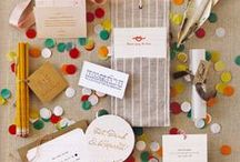 Craft paper invitations  / by Conservatorie Floral