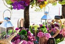 Wedding Tablescapes / Table decorations for weddings