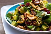 "Vegan Salads  / ""Veganism is not about giving anything up or losing anything; it is about gaining the peace within yourself that comes from embracing nonviolence and refusing to participate in the exploitation of the vulnerable."" ― Gary L. Francione / by Desert Vegan"