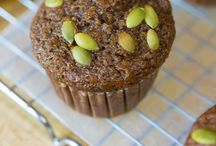 """Food-Muffins/""""Breads"""" / Muffins are usually eaten at breakfast/snack, don't have icing on them, and often contain fruit.   / by Jennifer Cook"""