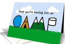 Summer Camp Letters  / Cute cards to send to your summer campers as letters from home or welcome home from summer camp - ease homesickness for kids & mom!
