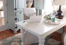 Inside-Home Office  / by Jennifer Cook