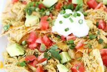 Food-Tacos/Nachos/Burritos / by Jennifer Cook