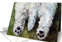 Westie Love / For the Love of Westies / West Highland Terrier dogs - featuring paper greeting cards for a variety of occasions