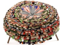 Textile Recycle / Recycling textiles to create brand new decor items