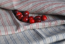 Kitchen Confidential  / Pretty tea towels, table cloths and other kitchen linens