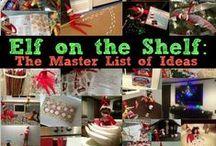 Elf on the Shelf Ideas / #ElfOnTheShelf #Elf #Ideas / by Devon Weaver (Mama Cheaps)