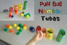 (PreK) Early Math--Numbers / Ideas for teaching early math concepts, including numbers and counting.