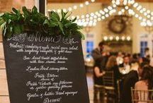 Menus, Programs, Boards, & Signs / by Conservatorie Floral