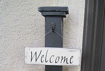 Home decor- Entryway/Front door