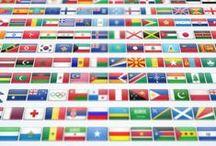 Flags / Flags, Bandiere, Drapeaux, Flaggen, Fahnen ...