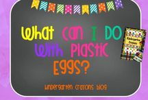 Plastic Eggs / by Kindergarten Crayons