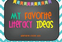 My Favorite Literacy Ideas / Here are great ideas to try in my kindergarten classroom.