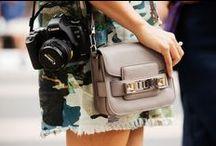handbags + footwear / by Kamshim Lau