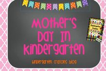 Mother's Day In Kindergarten / by Kindergarten Crayons