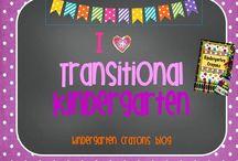 I Love Transitional Kindergarten / by Kindergarten Crayons