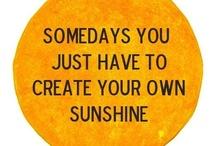 inspiring quotes. / by Molly Mahar