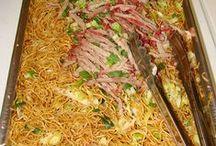 Hawaii style ethnic foods