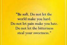 Words of Wisdom  / by Rita Skeetah
