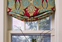 Window treatments, Murals & Wallpaper / Drapes, Curtains & Valances / by Pamela Osborne