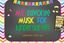 My Favorite Music for Kindergarten / by Kindergarten Crayons