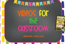 Videos For Your Classroom / Here are my favorites for professional development and some for my students / by Kindergarten Crayons